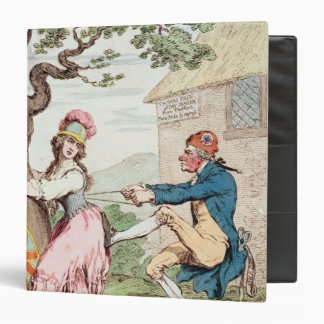 Fashion Before Ease or A Good Constitution...' 3 Ring Binder