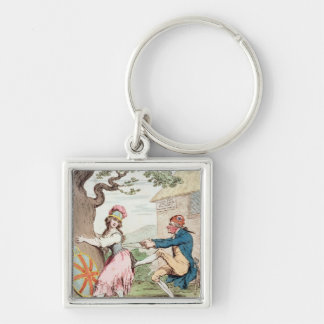 Fashion Before Ease or A Good Constitution...' Keychain