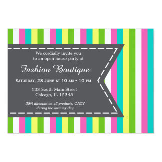 Fashion boutique invitations announcements zazzle fashion boutique card stopboris Images