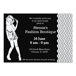 Dress boutique invitations announcements zazzle fashion boutique card stopboris Gallery