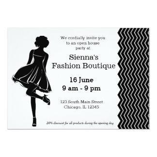 Fashion boutique invitations announcements zazzle fashion boutique card stopboris Gallery