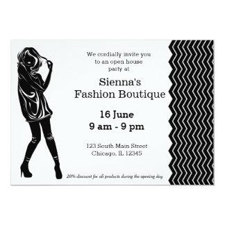 Fashion Boutique Custom Invites