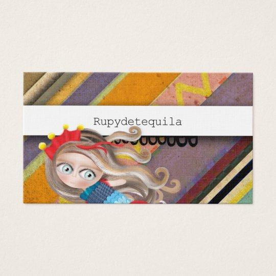Fashion Boutique Stripes Business Card