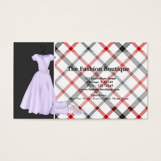 Fashion Boutique (White) Business Card