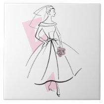 Fashion Bride Pink tile