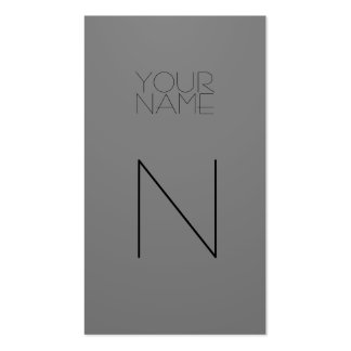 Fashion Double-Sided Standard Business Cards (Pack Of 100)