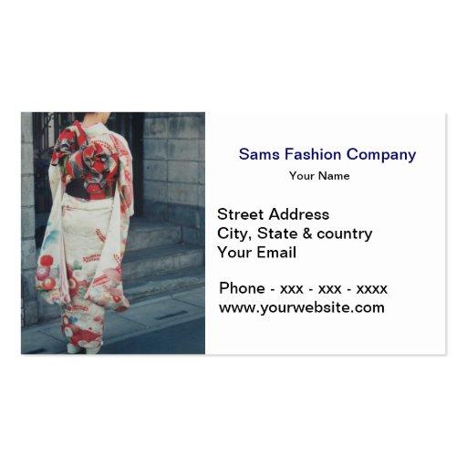 Fashion Clothing Business Card