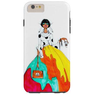 Fashion & Coffee iPhone 6 plus Tough Tough iPhone 6 Plus Case