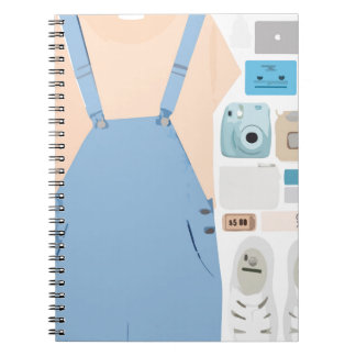 Fashion Collage Notebook
