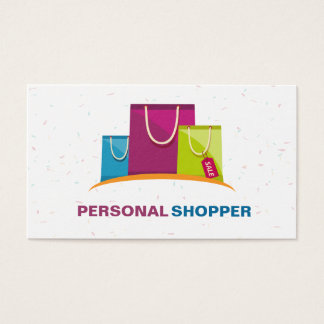 Fashion Consultant Personal Shopper Business Card