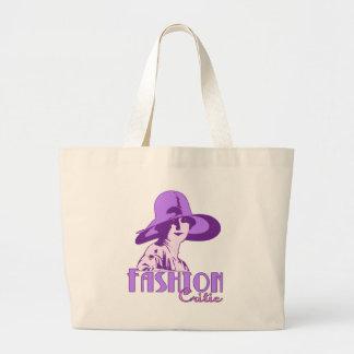Fashion Critic Large Tote Bag