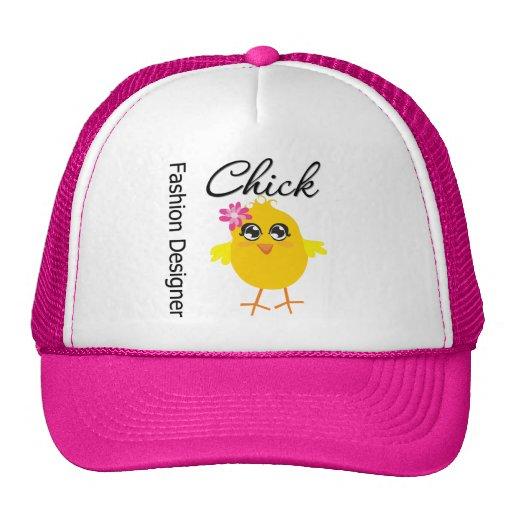 Fashion Designer Chick Trucker Hat