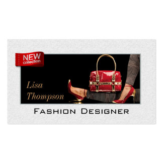 Fashion Designer Shoes High Heel Collection Card Business Card