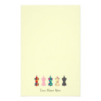 Fashion Designer / Stylist Personalized Notepad Stationery