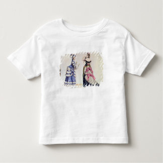 Fashion designs for women from the 1860's toddler t-shirt