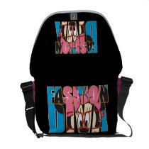 Fashion Diva 1 Messenger Bag at Zazzle