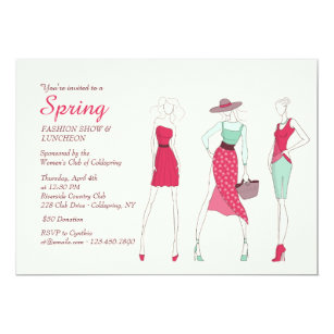 Fashion Diva Invitation
