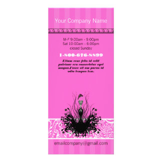 Fashion Diva Invitations, Flyers and Stickers Rack Card
