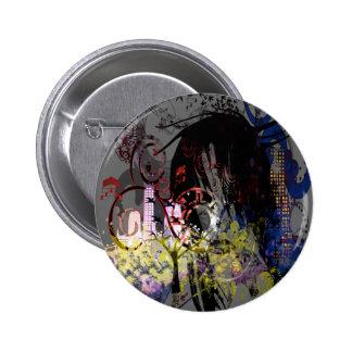 Fashion Diva Swirled Button