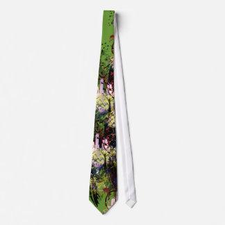 Fashion Diva Swirled Neck Tie
