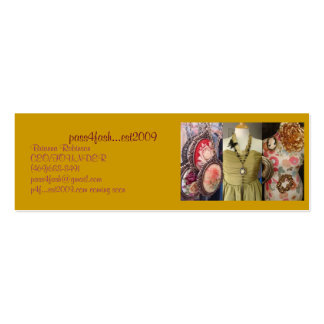 Fashion Double-Sided Mini Business Cards (Pack Of 20)