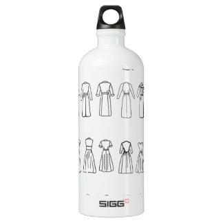 Fashion Dress backs Water Bottle