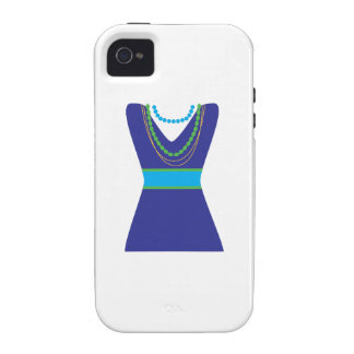 Fashion Dress Vibe iPhone 4 Covers