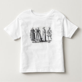 Fashion during the Tudor Period Toddler T-shirt