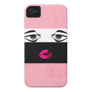 Fashion face 2 iPhone 4 Case-Mate case