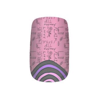 Fashion Fixation Hypnotic Nails Minx® Nail Art