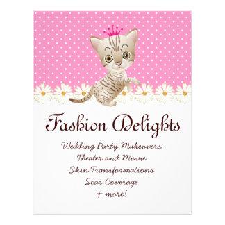 Fashion Flyer Zebra Cat Daisy Flower Pet Sitter