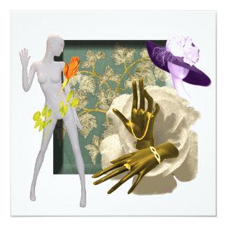 Fashion Forward Personalized Invite