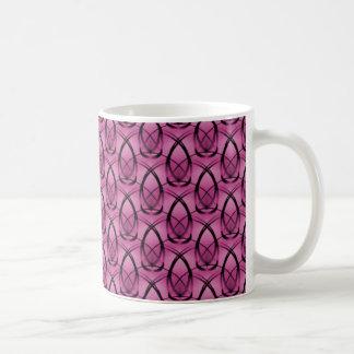 Fashion Forward Mug, Fuchsia Classic White Coffee Mug