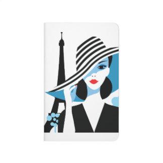 Fashion french stylish fashion chic illustration journal