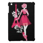Fashion french stylish fashion illustration iPad mini cases
