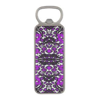 Fashion Girl Lips Cheetah Magnetic Bottle Opener
