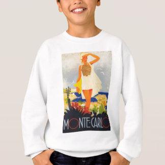 Fashion Girl Monte Carlo Beach Travel Sweatshirt
