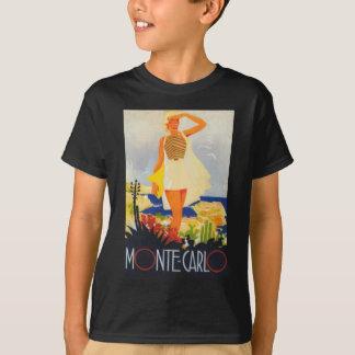 Fashion Girl Monte Carlo Beach Travel T-Shirt