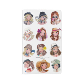 Fashion Girls by Cartita Design | Notebook Cover