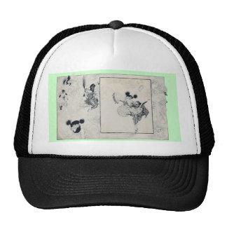 Fashion glamour ladies trucker hat