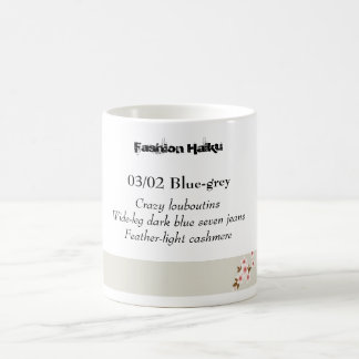 Fashion Haiku 01 Coffee Mugs