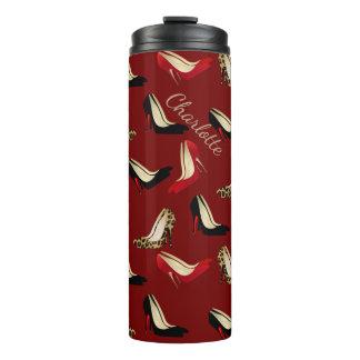 Fashion Heels Custom Thermal Tumbler