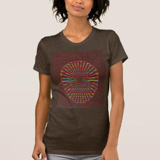 FASHION Hut : CHOCOLATE Brown wheel energy chakra Shirt