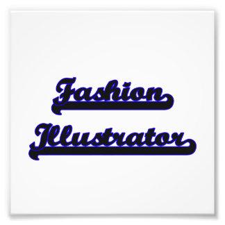 Fashion Illustrator Classic Job Design Photo Print
