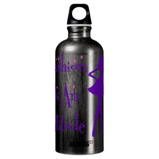 Fashion Is An Atttitude Water Bottle