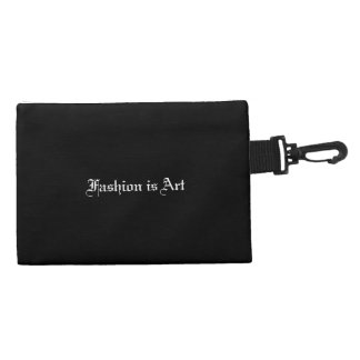 Fashion is Art Clip On Bag