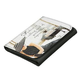 Fashion Is Trifold Wallet