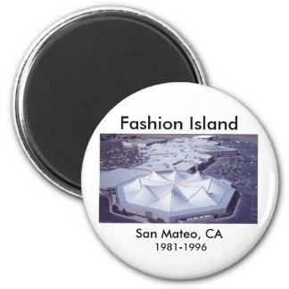 Fashion Island, San Mateo, CA, 1981-1996 Magnet