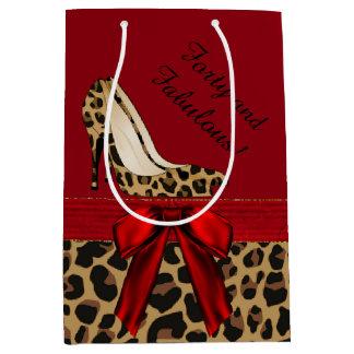 Fashion Jaguar Stilettos Custom Gift Bag