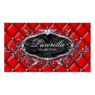 Fashion Jewelery Business Card Valentine Tufted